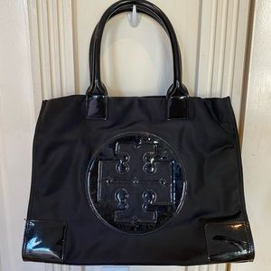 NEVER USED Tory Burch Ella Tote Bag - Black